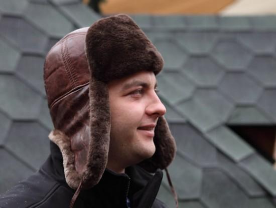 Купить мужские шапки ушанки из меха.
